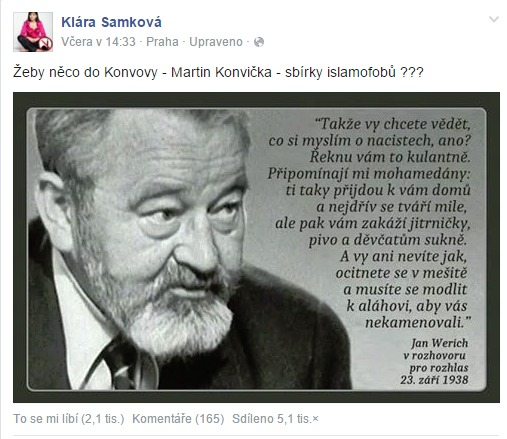 Klára Samková_
