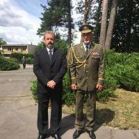 Hynek Blaško s poslancem Jiřím Kohoutkem (SPD)