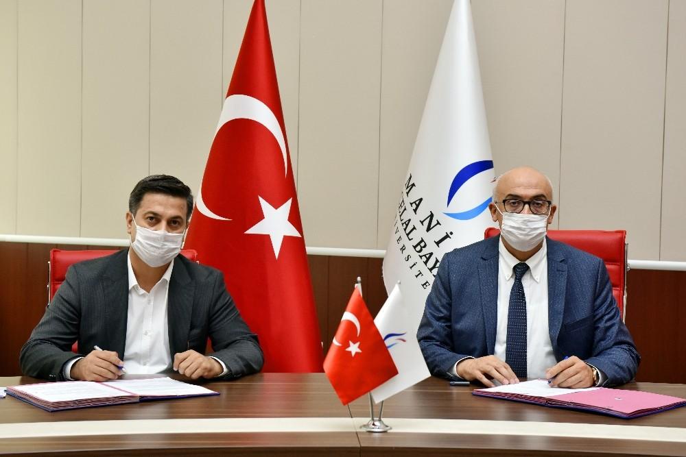 İmzalanan protokolle Manisa CBÜ'de 'Genç ofis' açılacak