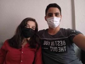 Covid'e yakalanan genç çiftin 'Aşı' pişmanlığı