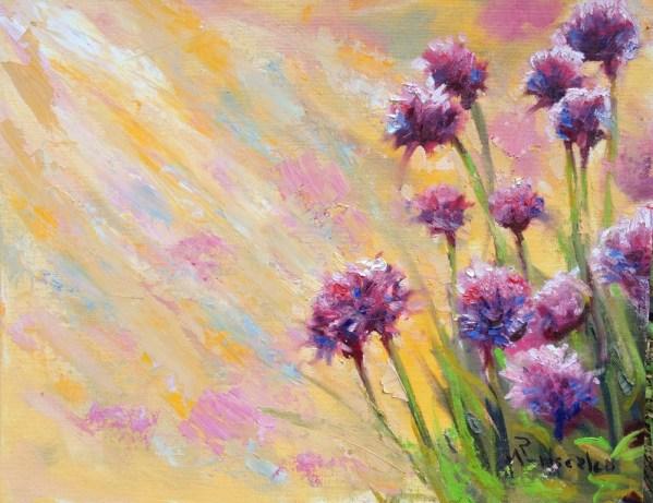 Clover Purple Flowers