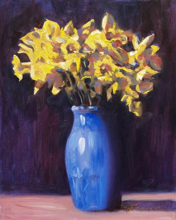 Daffodil still life