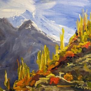 Mountain Light and the Burning Bush