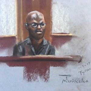 Roof 1-9-17 Tyrone Sanders Testifies During Sentencing