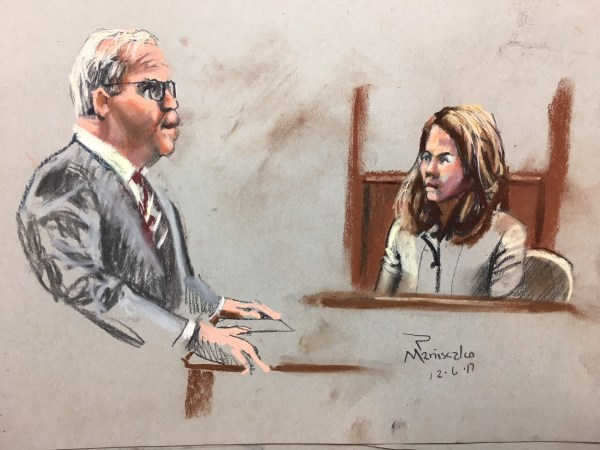 Solicitor Scarlet Wilson testifies