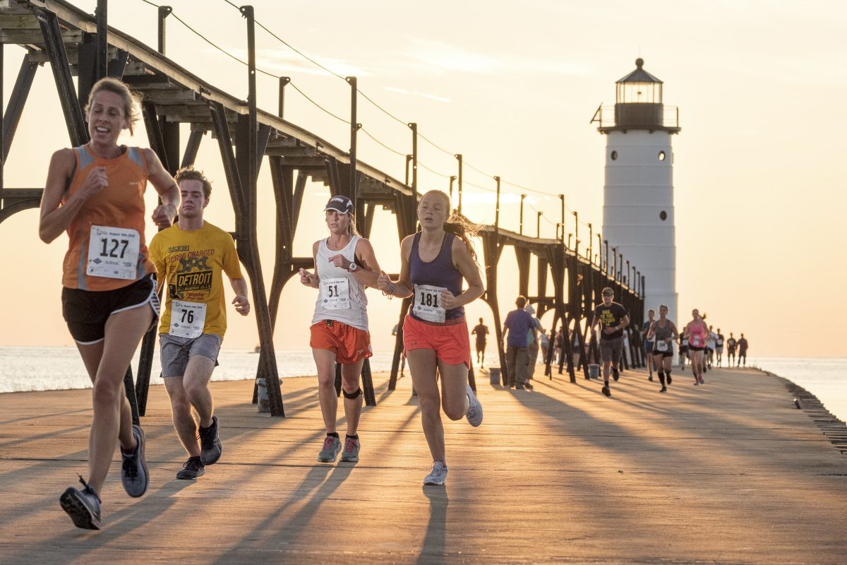 Manistee Media Run the Pier 2019