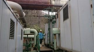 九重観光ホテル地熱発電施設