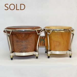 walnut and osage orange bongos