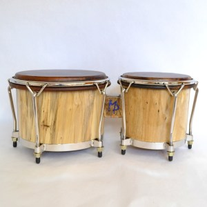 xl spalted maple 5-lug bongos