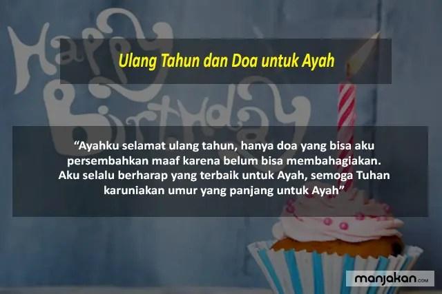 Ulang Tahun Dan Doa Untuk Ayah