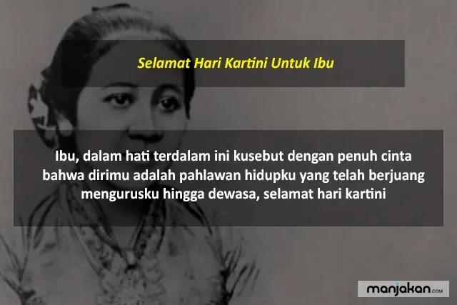 Selamat Hari Kartini Untuk Ibu