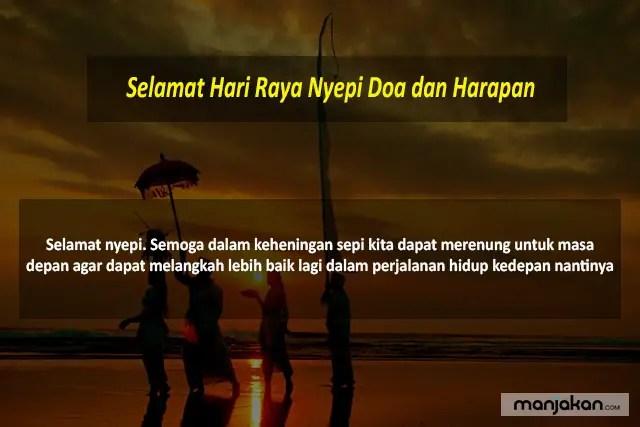 Selamat Hari Raya Nyepi Doa Dan Harapan