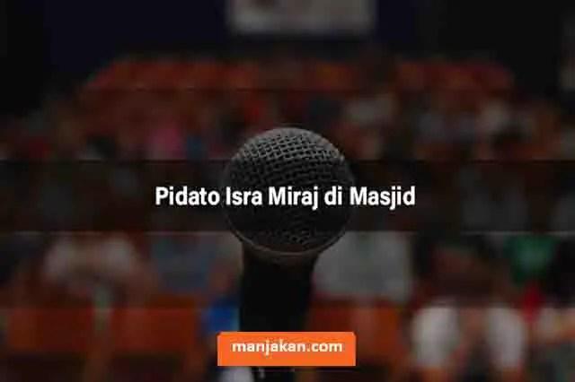 Pidato Isra Miraj Di Masjid