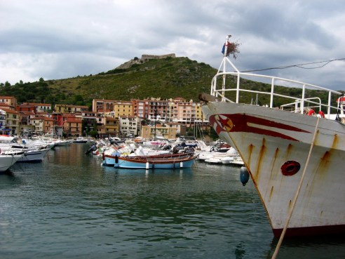 Red star in Porto Ercole