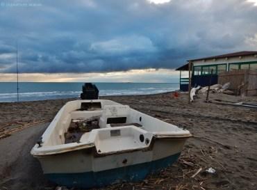 Capalbio beach.
