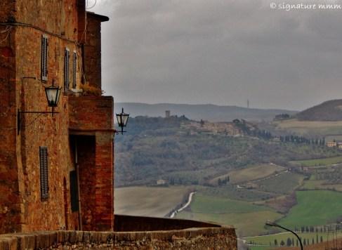 Tuscany from Pienza.