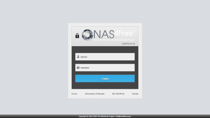 NAS4Free 11 0 Installation Tutorial | Manjaro dot site