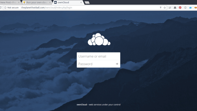 How to install OwnCloud 10 on Debian 8 Jessie | Manjaro dot site