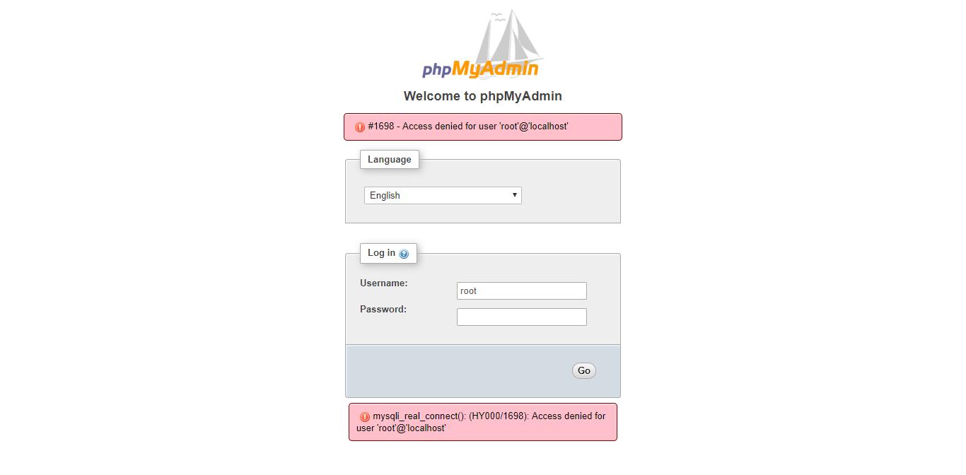 install apache php mysql phpmyadmin debian 9