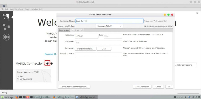 install MySQL Workbench on Linux Mint