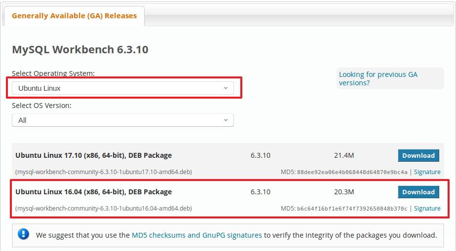 How to install MySQL Workbench on Linux Mint 18