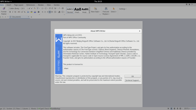 Complete Tutorial to Install WPS Office on Debian 9