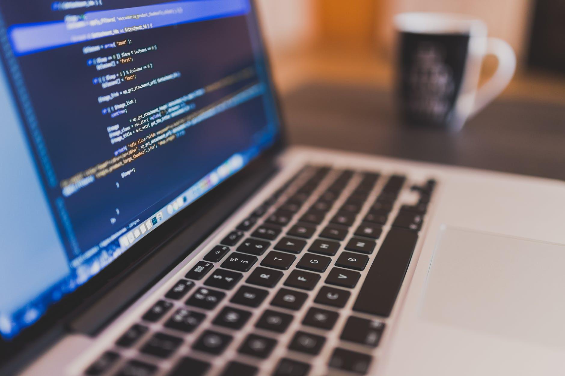 coffee writing computer blogging