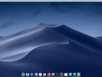 Linux Mint 19 like mac os x