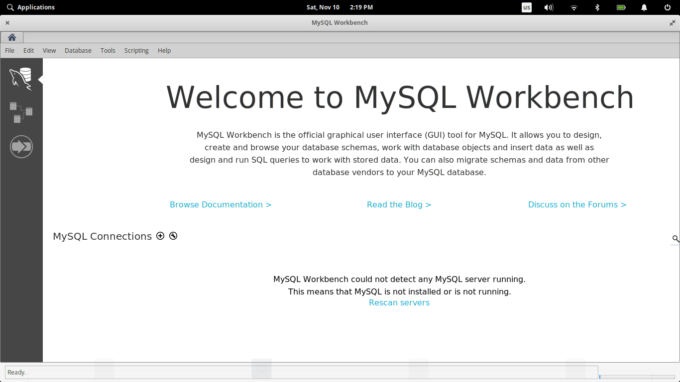 How to Install MySQL Workbench on Elementary OS Juno | Manjaro dot site