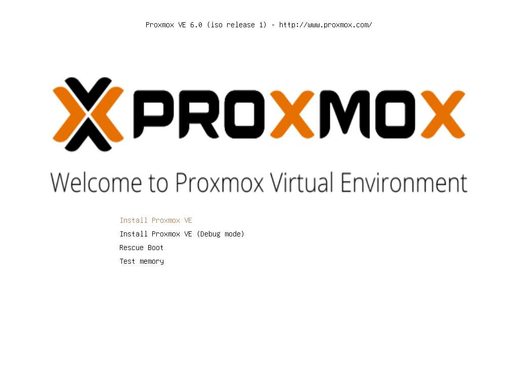 beginners guide Install Proxmox 6.0 on Virtualbox
