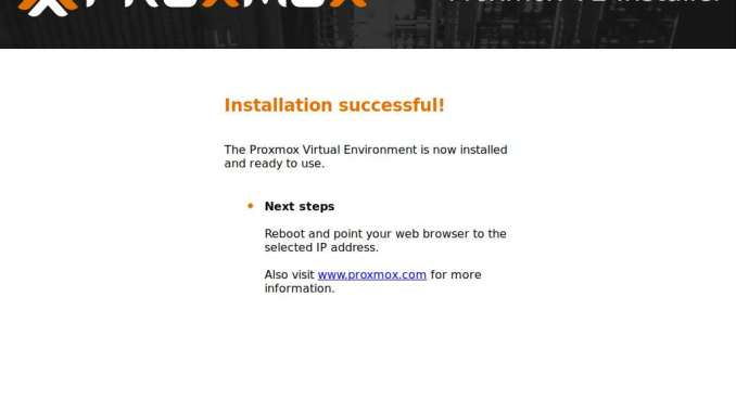 Is it Possible to Install Proxmox 6 0 on VirtualBox