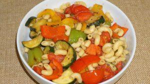 Grilled Veggie Pasta Salad Recipe by Manjula
