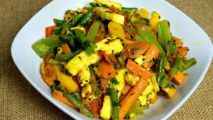 Paneer Jalfrezi Recipe by Manjula