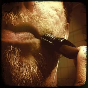 Boar Bristle Brush to soften your beard