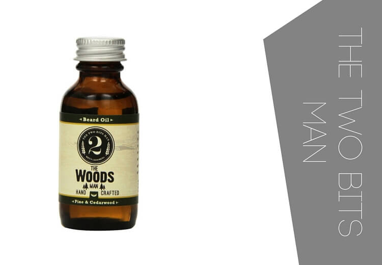 The two bits man beard oil