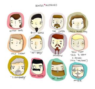 Beards and moustaches styles - Learn how to shape your facial hair