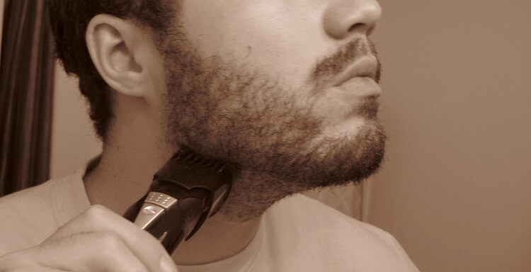 How to groom a beard with a beard trimmer