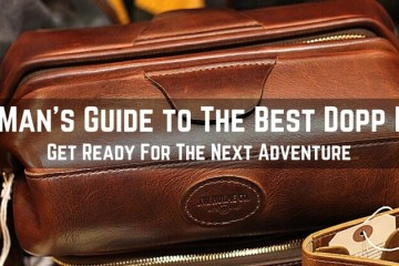 What is the best dopp kit for men. Find the best toiletry bag