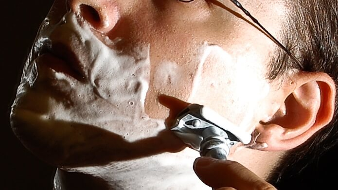 Shaving with a great safety razor is good for shaving sensitive skin