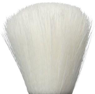 Synthetic hair shaving brush