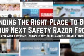 Where to buy a safety razor and shaving supplies