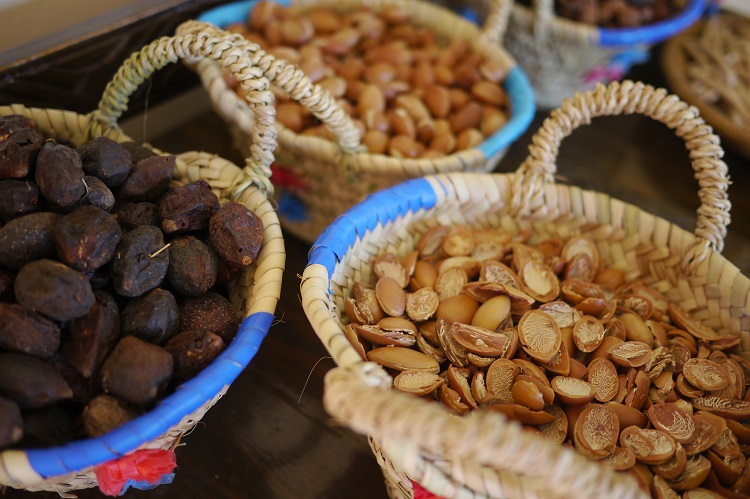 Nut where argan oil is produced. Gives superior beard and hair health