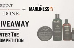 Dapper and Done and The Manliness Kit Giveaway
