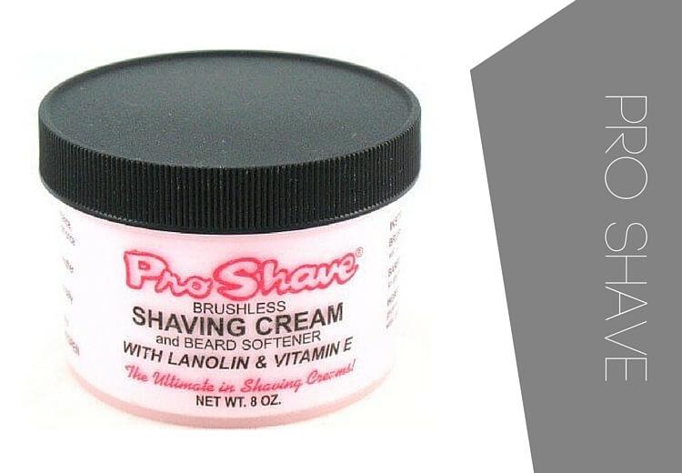 Pro shave shaving cream