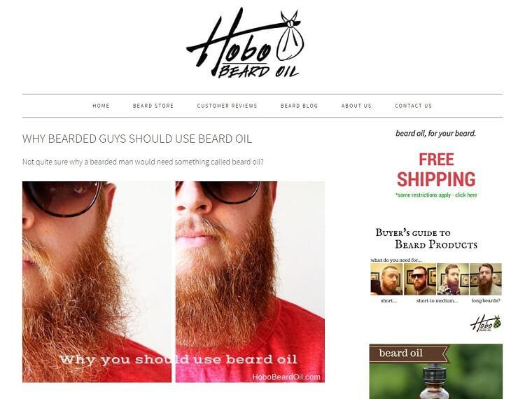 Hobo beard oil company eshop