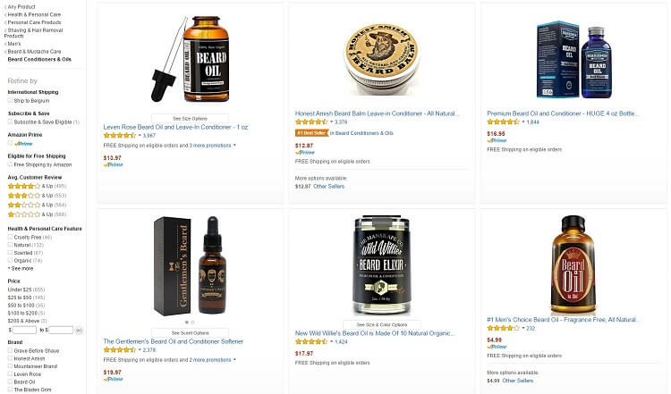 Where to buy beard oil from if not from amazon