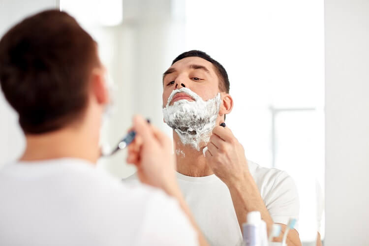 Shaving technique is a reason for razor burn razor bumps and ingrown hair