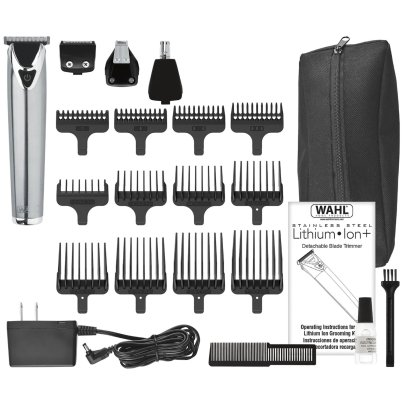 Wahl Lithium Ion Stainless Steel Groomer #9818