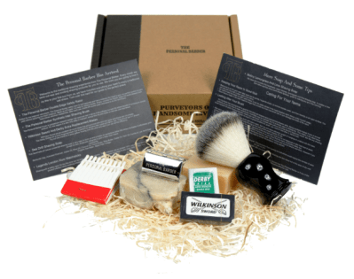 thepersonalbarber wet shaving subscription box