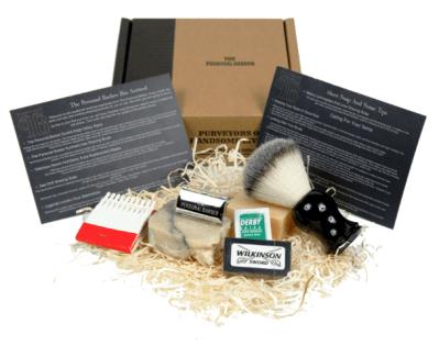 thepersonalbarber wet shaving subscription box